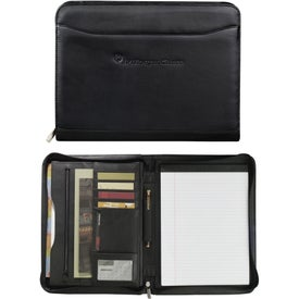 Millennium Leather Zippered Padfolio