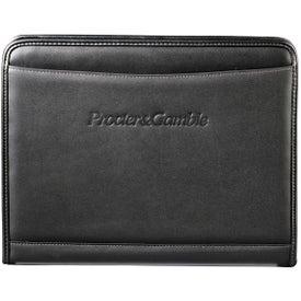 Advertising Millennium Leather Writing Pad