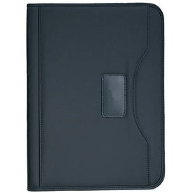 Millennium Microfiber Padfolio Printed with Your Logo