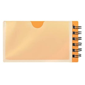 Mini Business Card Jotter Branded with Your Logo