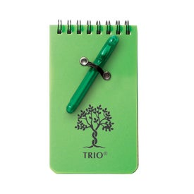 Customized Mini Flap Jotter with Pen and Recycled Paper