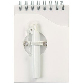 Mini Jotter Pad with Shorty Pen Printed with Your Logo