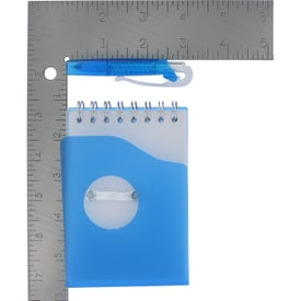Personalized Mini Jotter Pad with Shorty Pen