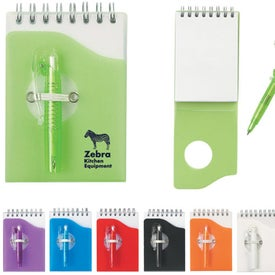Mini Jotter Pad with Shorty Pen