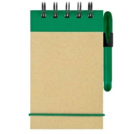 Customized Mini Recycled Color Spine Pocket Jotter