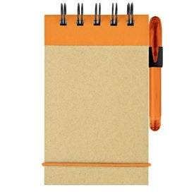 Mini Recycled Color Spine Pocket Jotter for Marketing