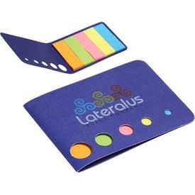 Advertising Mini Sticky Flag Wallet