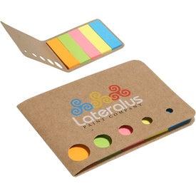 Mini Sticky Flag Wallet for Marketing
