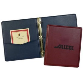 Branded Leather Substitute Monaco Binder