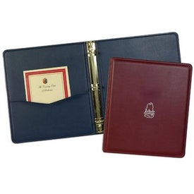 Leather Substitute Monaco Binder for Your Company