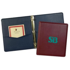 Personalized Monaco Binder