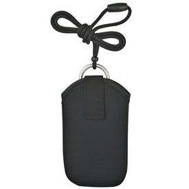 Personalized Neoprene Portable Electronic Neck Case