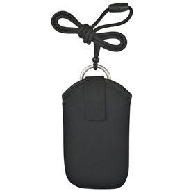 Personalized Neoprene Portable Electronic Neck Case
