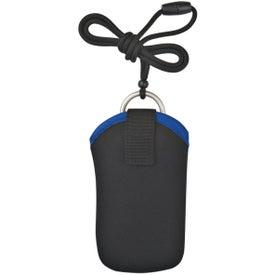 Neoprene Portable Electronic Neck Case for Marketing
