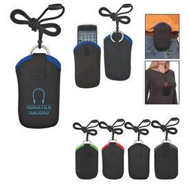 Neoprene Portable Electronic Neck Case