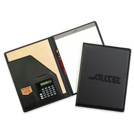 Newport Pad Holder with Calculator Branded with Your Logo
