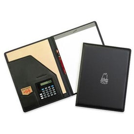 Newport Pad Holder with Calculator for Advertising