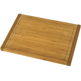 Non-Slip Bamboo Cutting Board with Your Slogan