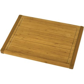 Non-Slip Bamboo Cutting Board Branded with Your Logo