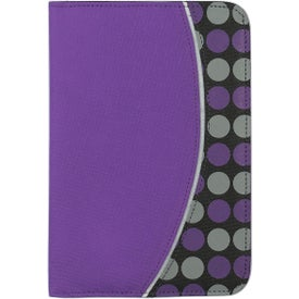 Customized Non Woven Polk A Dot Padfolio