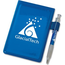 Note Pad Jotter with Pen Imprinted with Your Logo