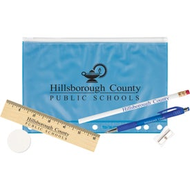 Pencil Pouch School Kit with Your Logo