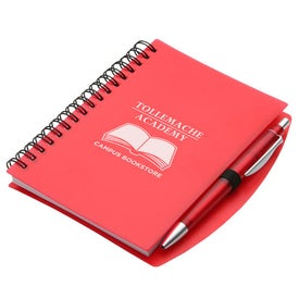 Hardcover Notebook and Pen Set for Your Church