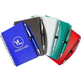 Hardcover Notebook and Pen Set (50 Sheets)