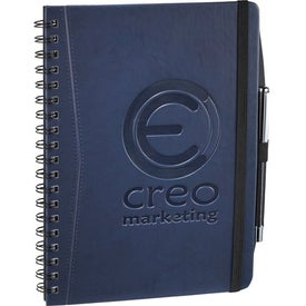 Pedova Wire Bound JournalBook with Your Logo