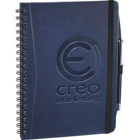 Pedova Wire Bound JournalBook with Your Logo