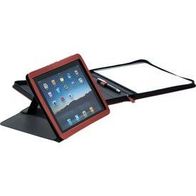 Printed Pedova iPad Stand Padfolio