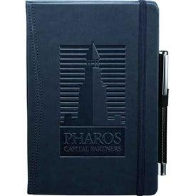 Imprinted Pedova Pocket Bound JournalBook