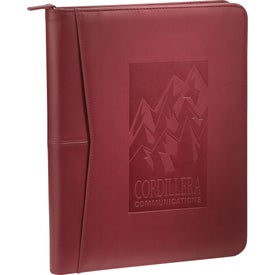 Advertising Pedova Zippered Padfolio