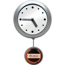 Logo Pendulum Wall Clock