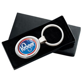 PhotoVision Oval Key Ring