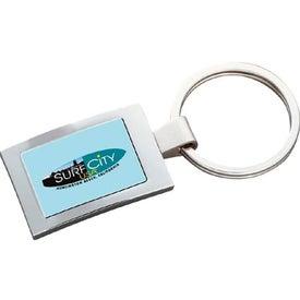 Custom PhotoVision Rectangle Key Ring