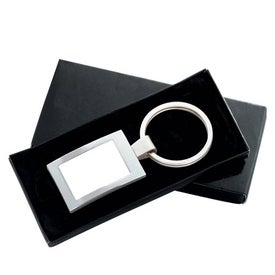 Logo PhotoVision Rectangle Key Ring