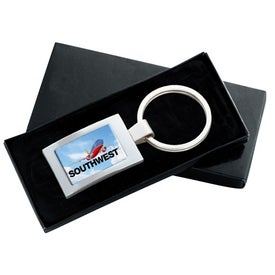 PhotoVision Rectangle Key Ring