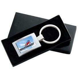 PhotoVision Rectangle Key Ring