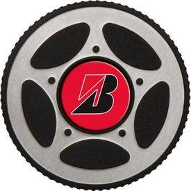 Monogrammed PhotoVision Stainless Tire Tumbler Gift Set