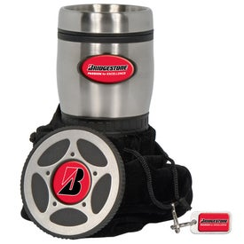 PhotoVision Stainless Tire Tumbler Gift Set