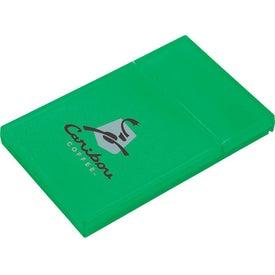 Plastic Business Card Holder for Promotion