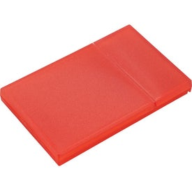 Plastic Business Card Holder Imprinted with Your Logo