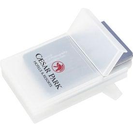 Plastic Business Card Holder for Marketing