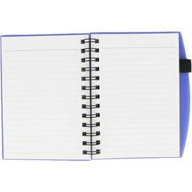 Monogrammed Plastic Cover Notebook