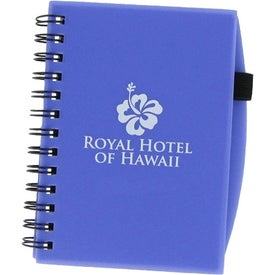 Custom Plastic Cover Notebook