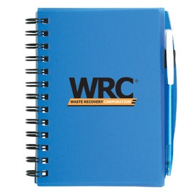 Advertising Plastic Cover Notebook