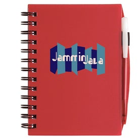 Plastic Cover Notebook Branded with Your Logo