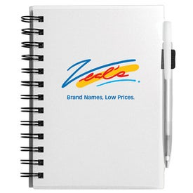 Company Plastic Cover Notebook