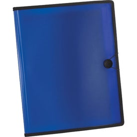 Plastic Portfolio Imprinted with Your Logo